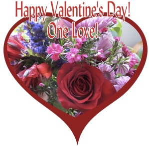 An early Valentine bouquet from Mike makes a perfect Valentine to send all!