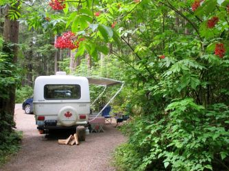 National Park campground, Mora, is only minutes from Rialto