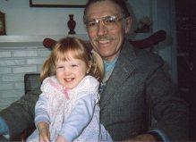 Grandpa Hubbard adored Kira!