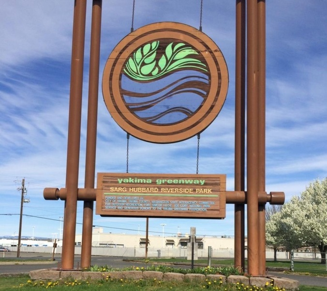 After his death, a new park, part of the Yakima Greenway, was named after him. Appropiate for an avid environmentalist, but her would not have wanted the honor.