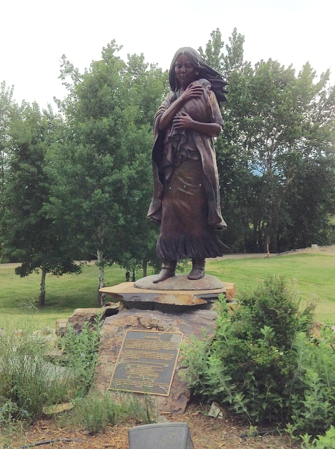 At the Sacajawea Interpretive, Cultural and Education Center