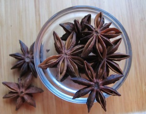 Star Anise, not as common as the other spices I write about in this post, is also a warming spice. Used in a lot of Chinese cooking. From a small, evergreen magnolia tree grown in Asian countries, the stars add decoration as well as sweet anise taste to warm holiday beverages.