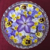 floating viola garden