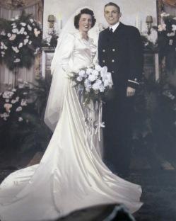 Novemeber 25, 1943, Wedding Day in Sagus Massachuchets