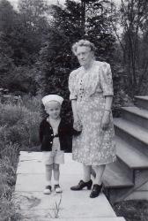 Ken with Great Grandma