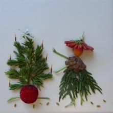 Woods fairy & her Christmas Tree